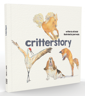 'critterstory' a children's picture book by ponderover publishing, llc