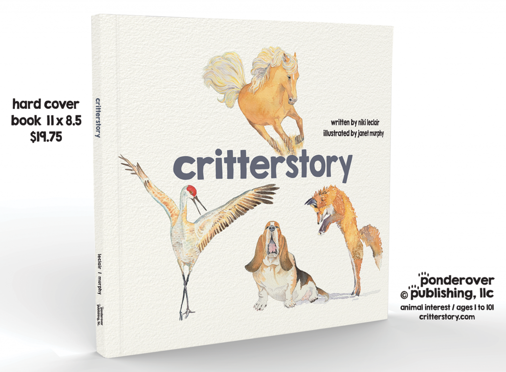 critterstory - a children's picture book ©ponderover publishing, llc