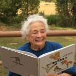 Helen, 92 years old loves to read critterstory!